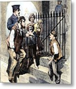 Prison: The Tombs, 1868 Metal Print by Granger