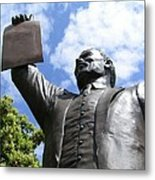 Proclamation Of Emancipation Metal Print by Sarah Broadmeadow-Thomas