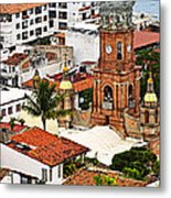 Puerto Vallarta Metal Print by Elena Elisseeva