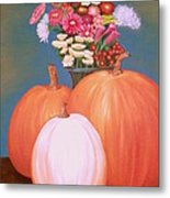 Pumpkin Metal Print by Amity Traylor