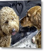 Puppy Love Metal Print by Madeline Ellis