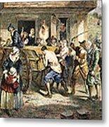 Puritans: Punishment, 1670s Metal Print by Granger