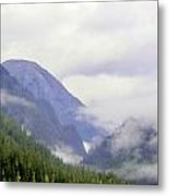 Purple Mountain Majesties Metal Print by Mindy Newman