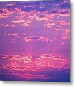 Purple Sky  Metal Print by Kevin Bone