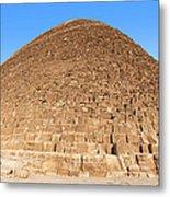 Pyramid Giza. Metal Print by Jane Rix