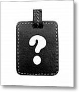 Question Mark Metal Print by Blink Images