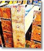 Rainbow Rust Metal Print by Todd Sherlock