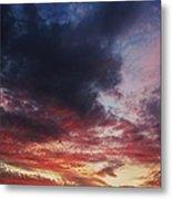Rainbow Sky Metal Print by Todd Sherlock