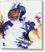Ray Rice Metal Print by Ash Hussein