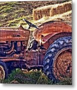 Ready For Retirement Metal Print by Kathy Jennings