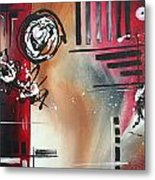 Red Divinity By Madart Metal Print by Megan Duncanson
