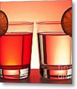 Red Drinks Metal Print by Blink Images