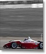 Red Racer Metal Print by Darcy Michaelchuk