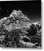 Red Rock Canyon At Spring Mountain Metal Print by David Patterson