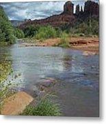 Red Rock Crossing In Sedona, Arizona Metal Print by David Edwards