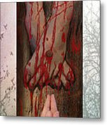 Redemption Metal Print by Cindy Wright
