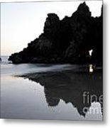 Reflections Big Sur Metal Print by Bob Christopher