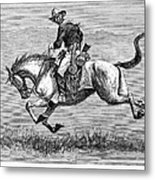 Remington: 10th Cavalry Metal Print by Granger