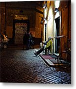 Restaurateur Metal Print by Cassie Jones Feliziani