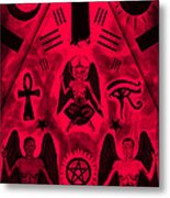 Revelation 666 Metal Print by Pierre Louis