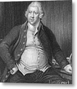 Richard Arkwright, English Industrialist Metal Print by Photo Researchers