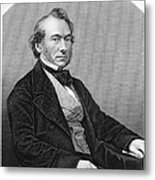 Richard Cobden (1804-1865). /nenglish Politician And Economist. Steel Engraving, English, 19th Century Metal Print by Granger