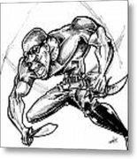 Riddick Metal Print by Big Mike Roate