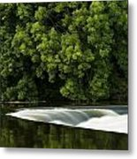 River Boyne, County Meath, Ireland Metal Print by Peter McCabe