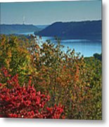 River View V Metal Print by Steven Ainsworth