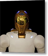 Robonaut 2, A Dexterous, Humanoid Metal Print by Stocktrek Images