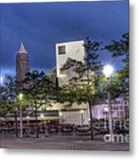 Rock And Roll Plaza Metal Print by David Bearden