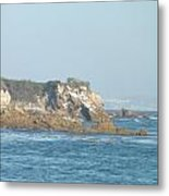 Rock Work Metal Print by Jamie Diamond