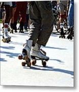 Roller Skates Metal Print by Emanuel Tanjala