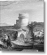 Rome: Appian Way, 1833 Metal Print by Granger
