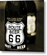 Root Beer Metal Print by Malania Hammer