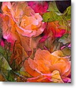 Rose 146 Metal Print by Pamela Cooper