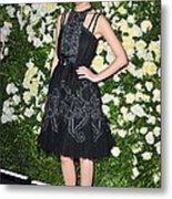 Rose Byrne Wearing A Chanel Dress Metal Print by Everett