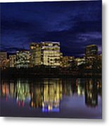 Rosslyn Skyline Metal Print by Metro DC Photography