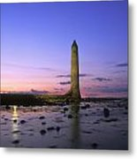 Round Tower, Larne, Co Antrim, Ireland Metal Print by The Irish Image Collection
