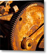 Rust Metal Print by Jephyr Art