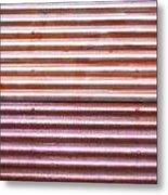 Rusty Metal Metal Print by Tom Gowanlock