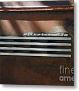 Rusty Old 1939 Chevrolet Master 85 . 5d16198 Metal Print by Wingsdomain Art and Photography