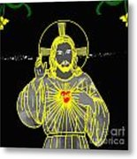 Sacred Heart Metal Print by Al Bourassa