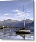 Sailing Boats Metal Print by Joana Kruse
