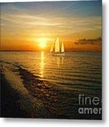 Sailing Metal Print by Jeff Breiman