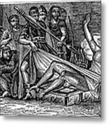 Saint Lawrence (c225-258) Metal Print by Granger