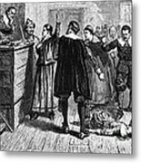 Salem Witch Trials, 1692-93 Metal Print by Photo Researchers