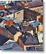 Salzburg's Roofs Austria Europe Metal Print by Sabine Jacobs