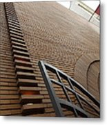 San Francisco - Maiden Lane - Xanadu Gallery - Frank Lloyd Architecture - 5d17795 Metal Print by Wingsdomain Art and Photography