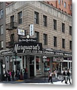 San Francisco Marquards Little Cigar Store Powell Street - 5d17950 Metal Print by Wingsdomain Art and Photography